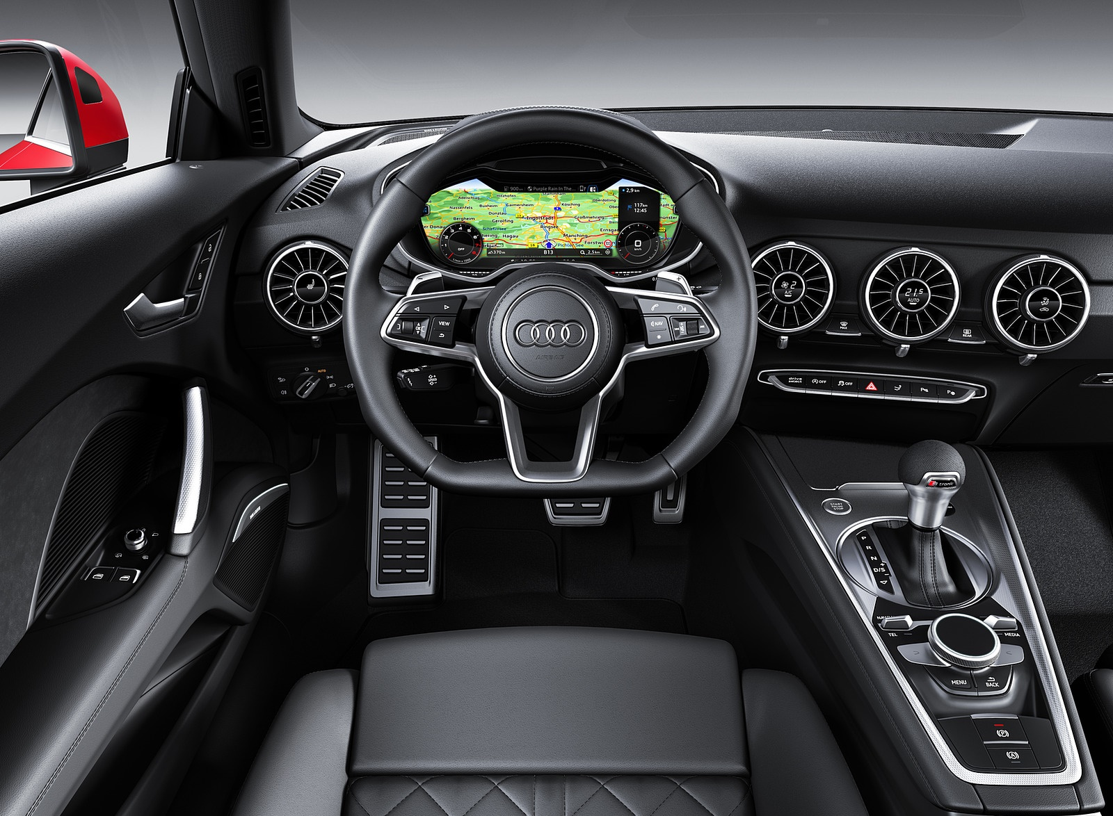2019 Audi TT Interior Cockpit Wallpaper (13)