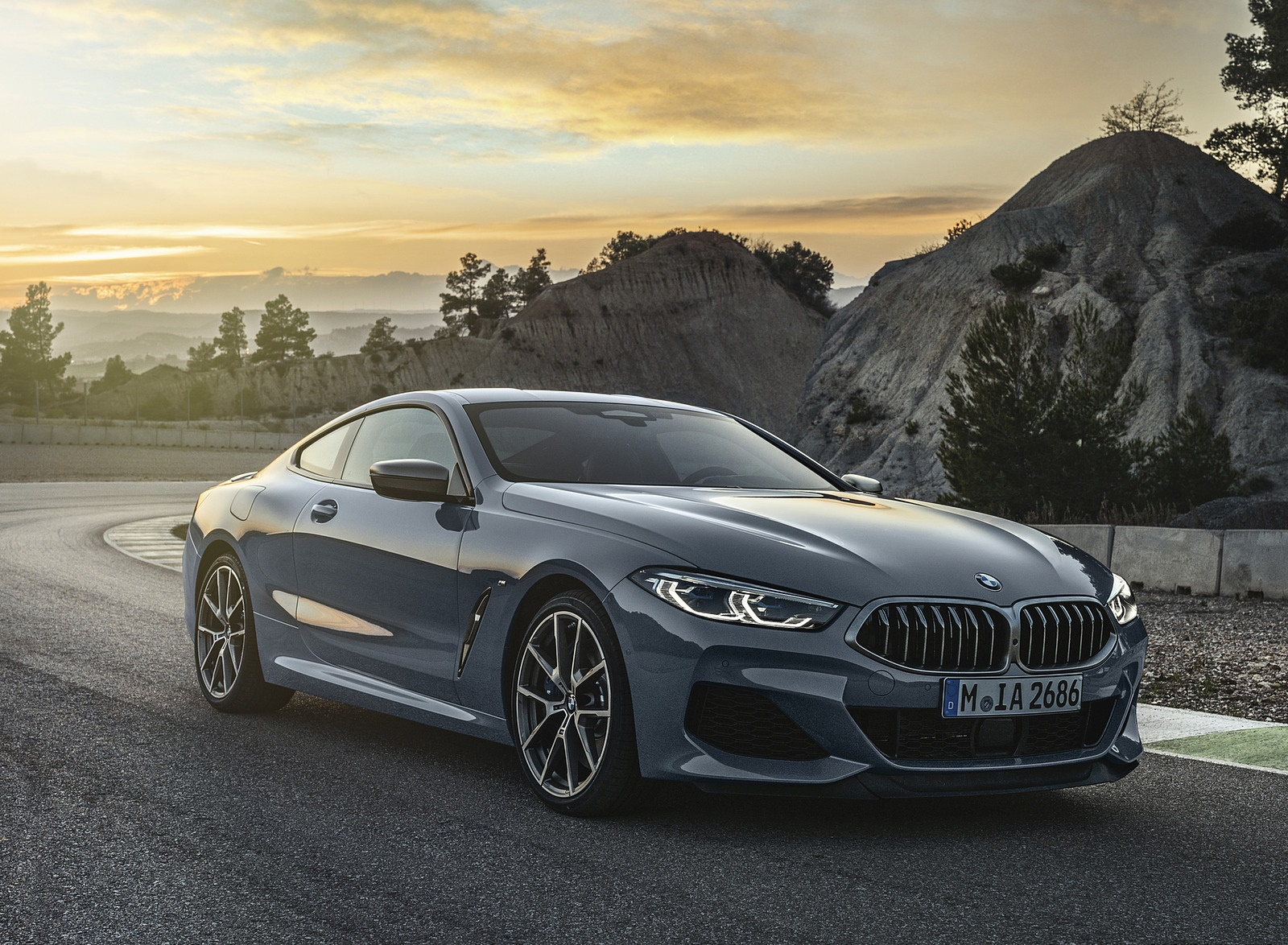 2019 BMW 8-Series M850i Front Three-Quarter Wallpapers (4)