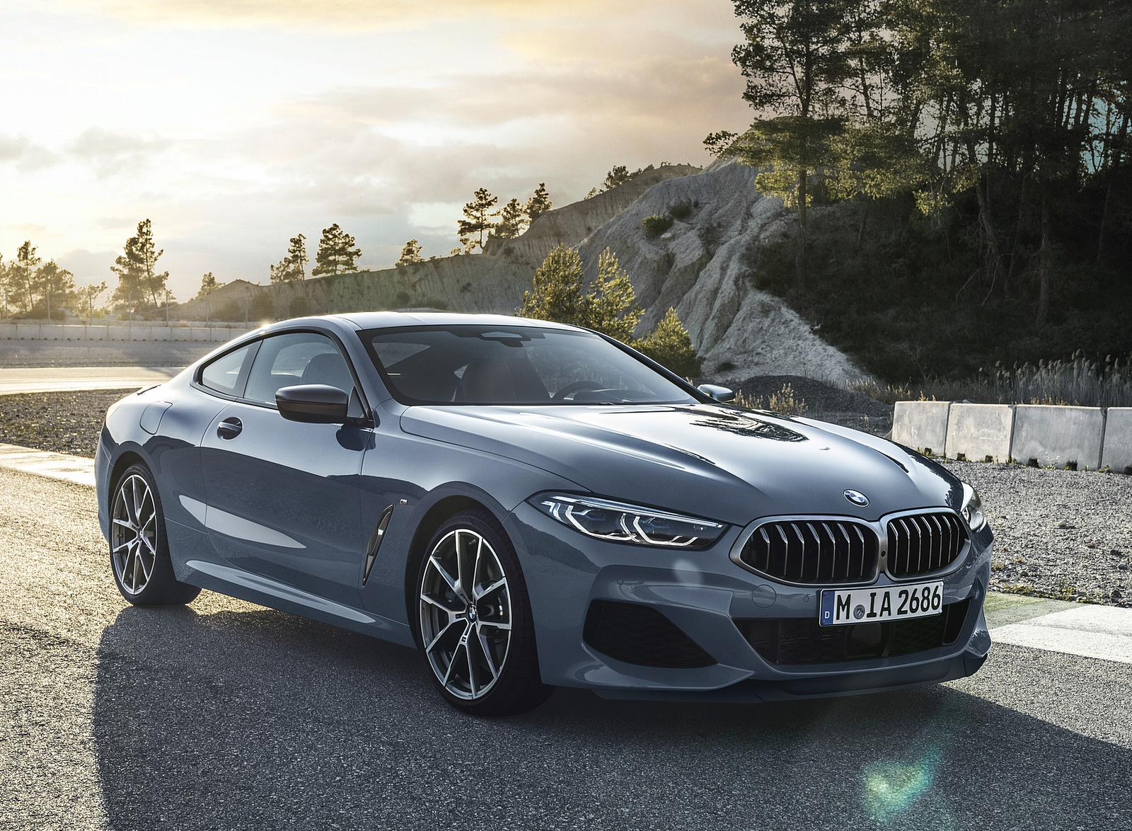 2019 BMW 8-Series M850i Front Three-Quarter Wallpapers (3)