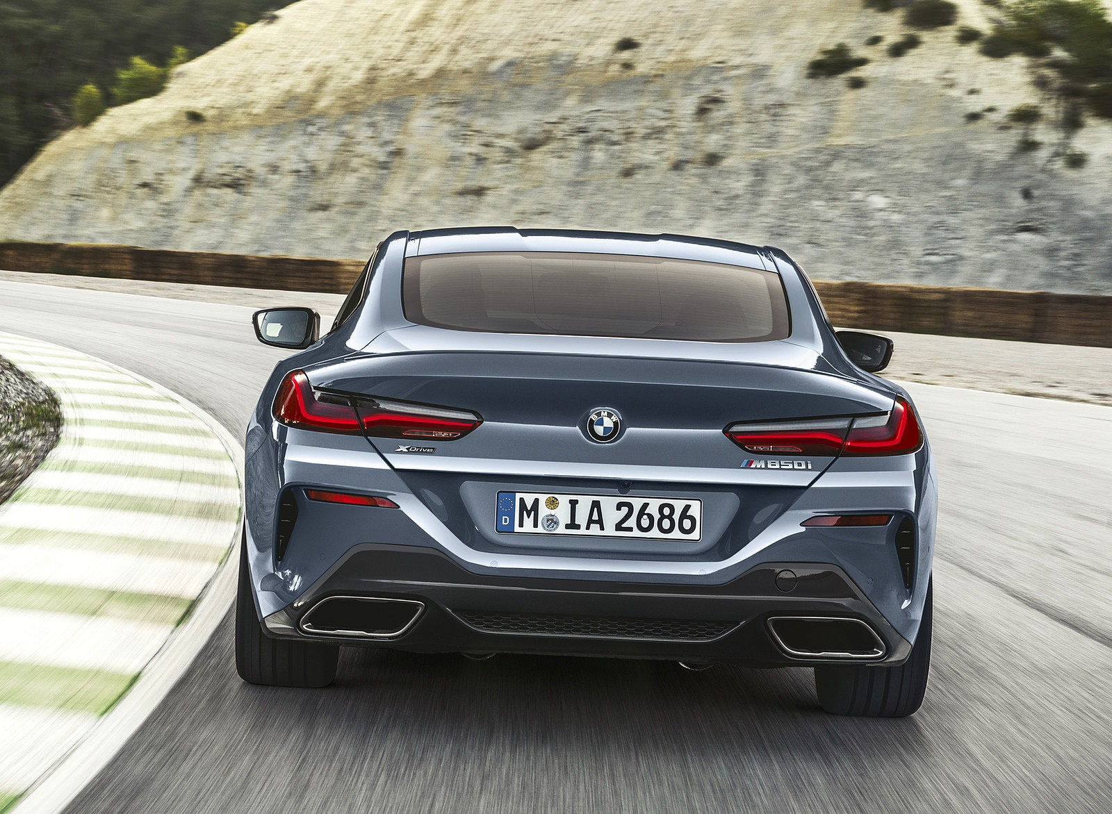2019 BMW 8-Series M850i Rear Wallpapers (9)