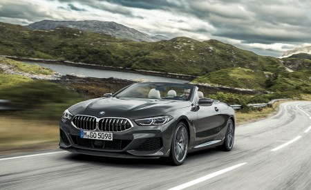 2019 BMW 8 Series Convertible Wallpapers HD
