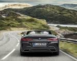 2019 BMW 8 Series M850i xDrive Convertible Rear Wallpapers 150x120 (8)