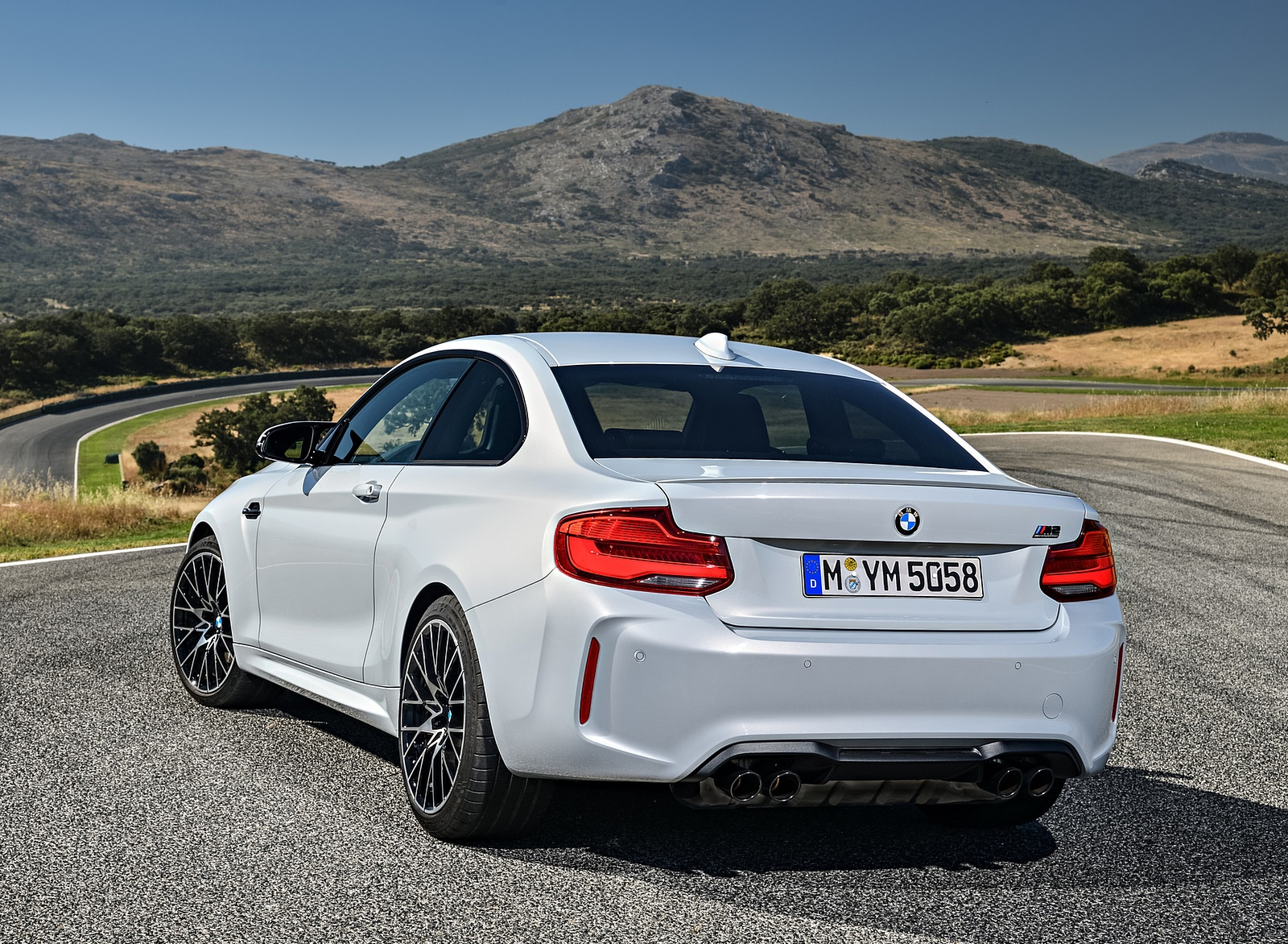 2019 Bmw M2 Competition Rear Three Quarter Wallpapers 47 Newcarcars