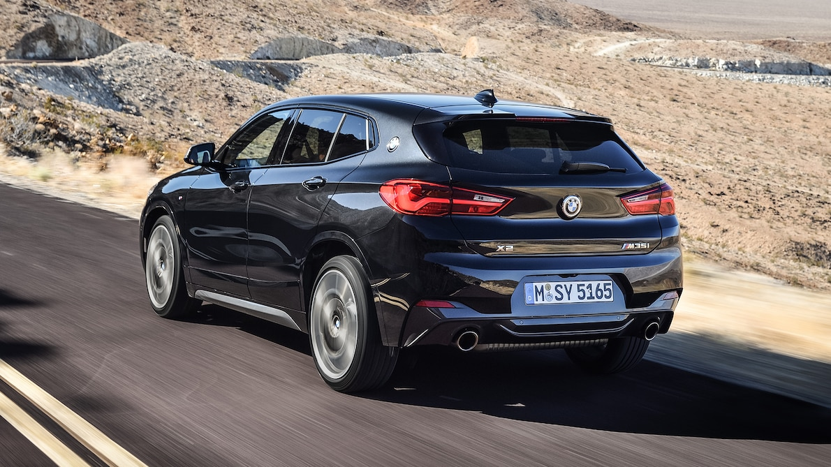 2019 BMW X2 M35i Rear Three-Quarter Wallpaper (6)