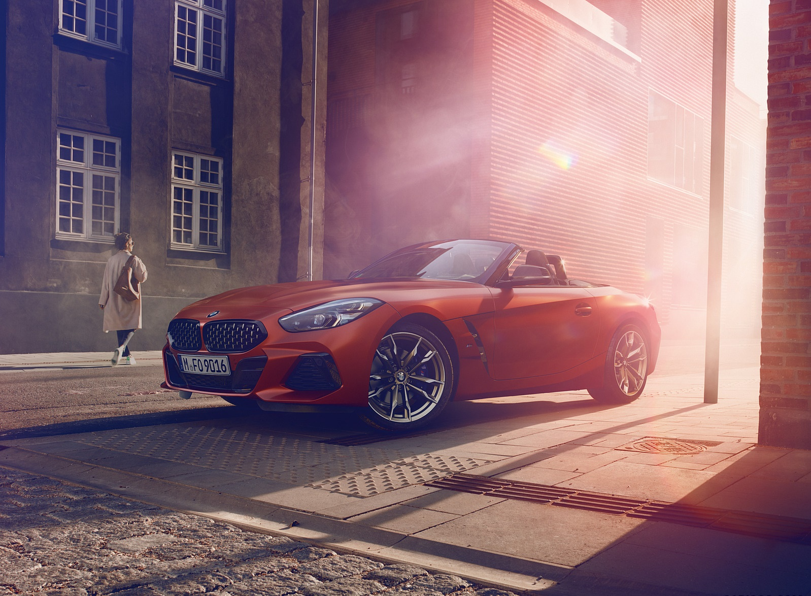 2019 BMW Z4 M40i First Edition Front Three-Quarter Wallpapers (5)