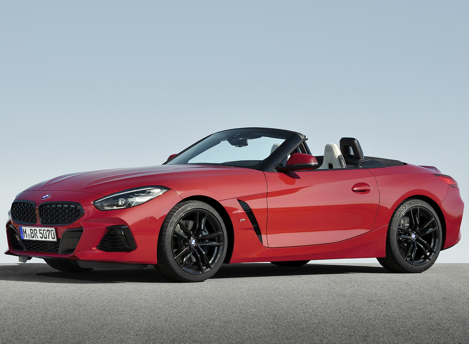 2019 BMW Z4 M40i First Edition Front Three-Quarter Wallpapers (9)