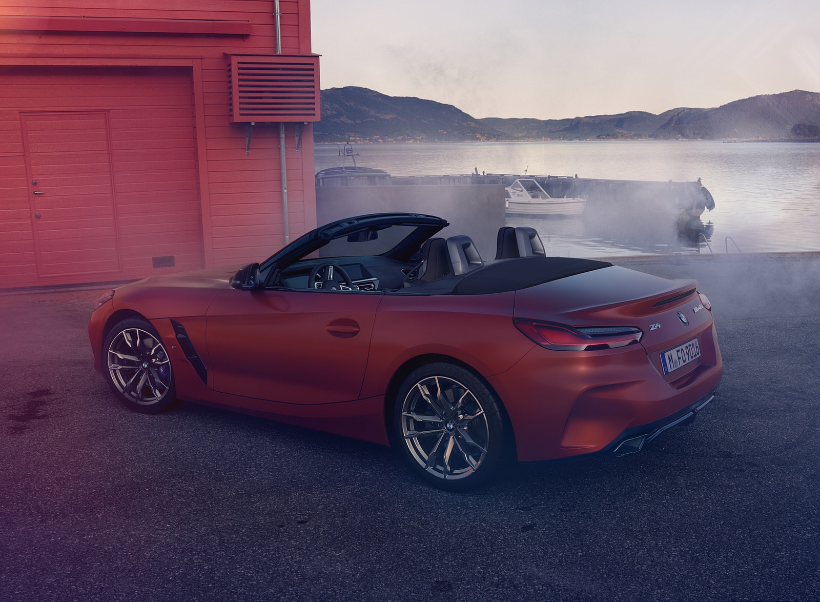 2019 BMW Z4 M40i First Edition Rear Three-Quarter Wallpapers (6)