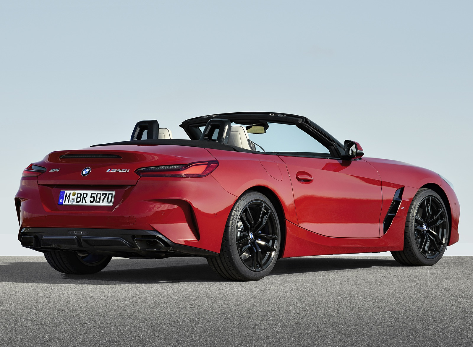 2019 BMW Z4 M40i First Edition Rear Three-Quarter Wallpapers (10)