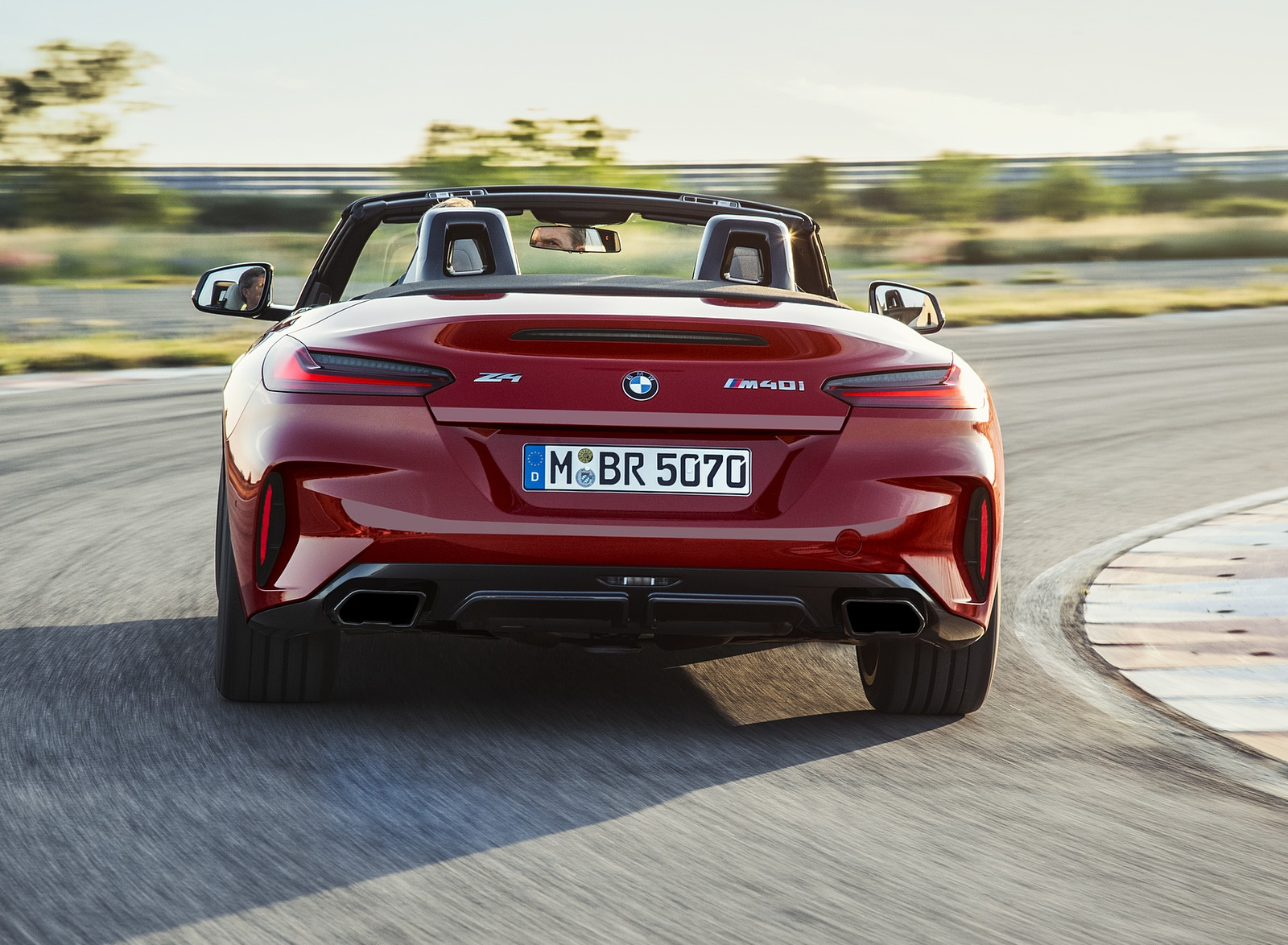2019 BMW Z4 M40i First Edition Rear Wallpapers (13)