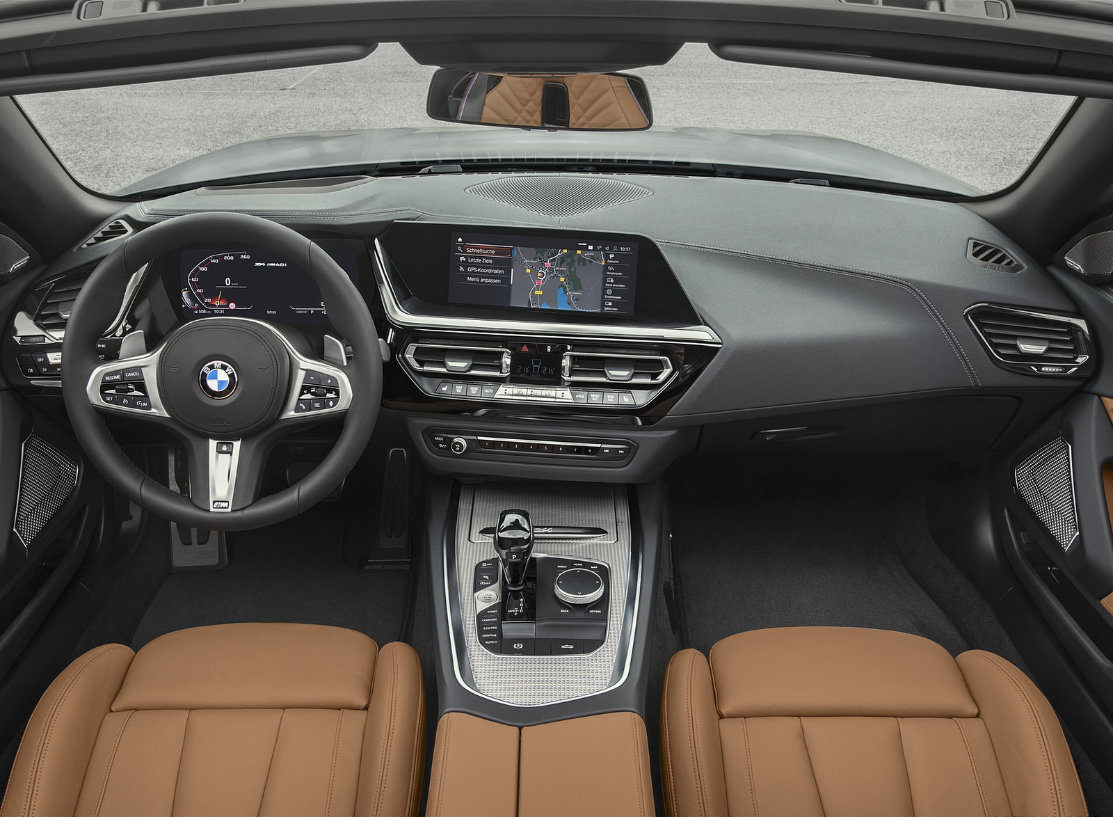 2019 Bmw Z4 M40i Interior Cockpit Wallpapers 39 Newcarcars
