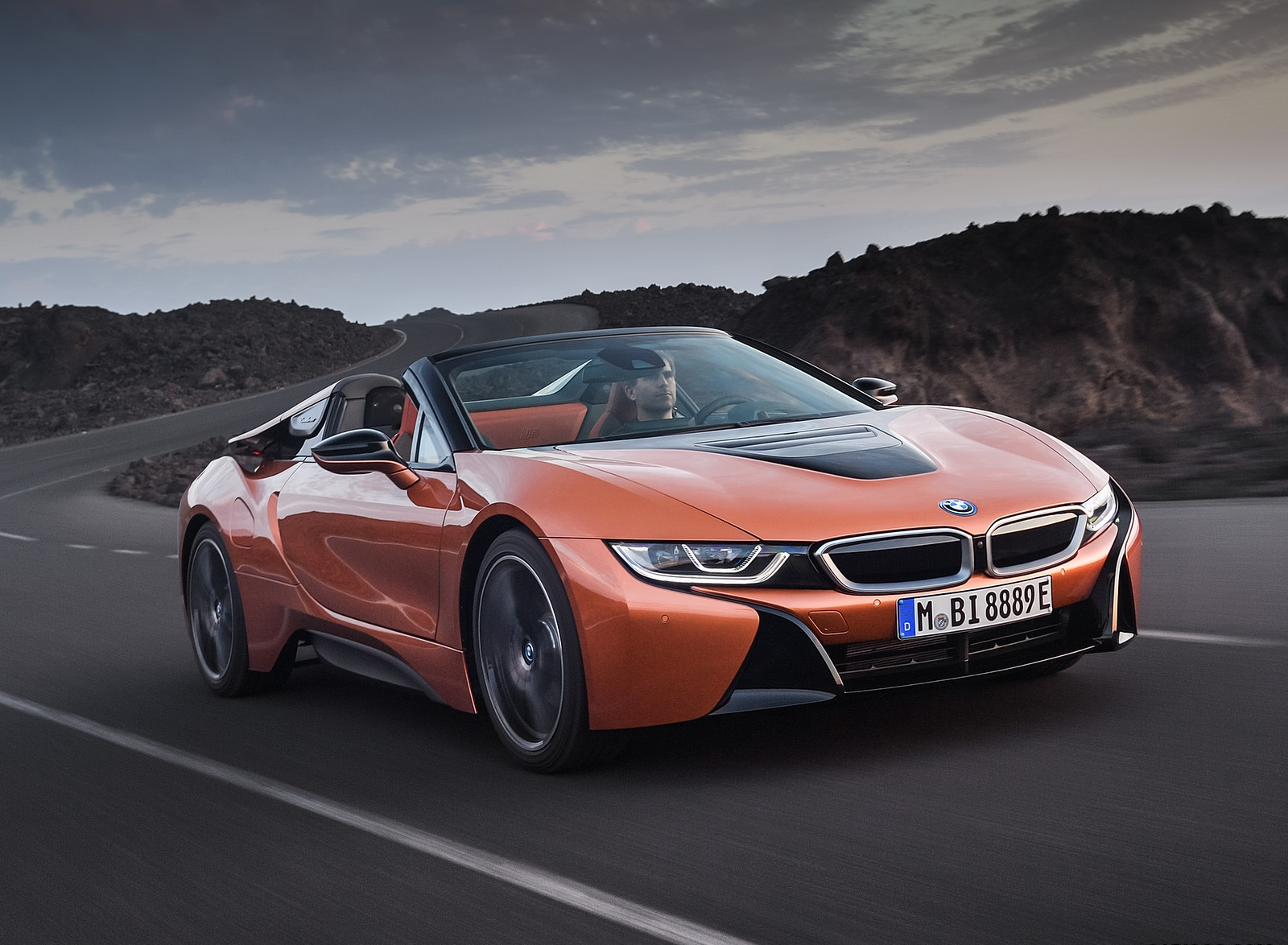 2019 BMW i8 Roadster Front Three-Quarter Wallpapers (5)