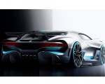 2019 Bugatti Divo Design Sketch Wallpapers 150x120 (49)