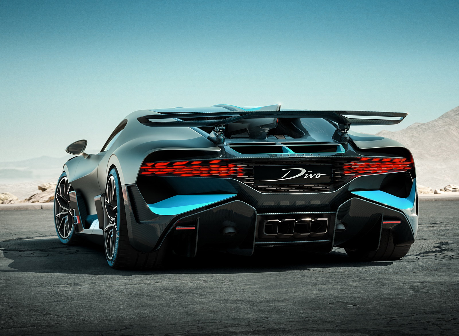 2019 Bugatti Divo Rear Three-Quarter Wallpaper (9)