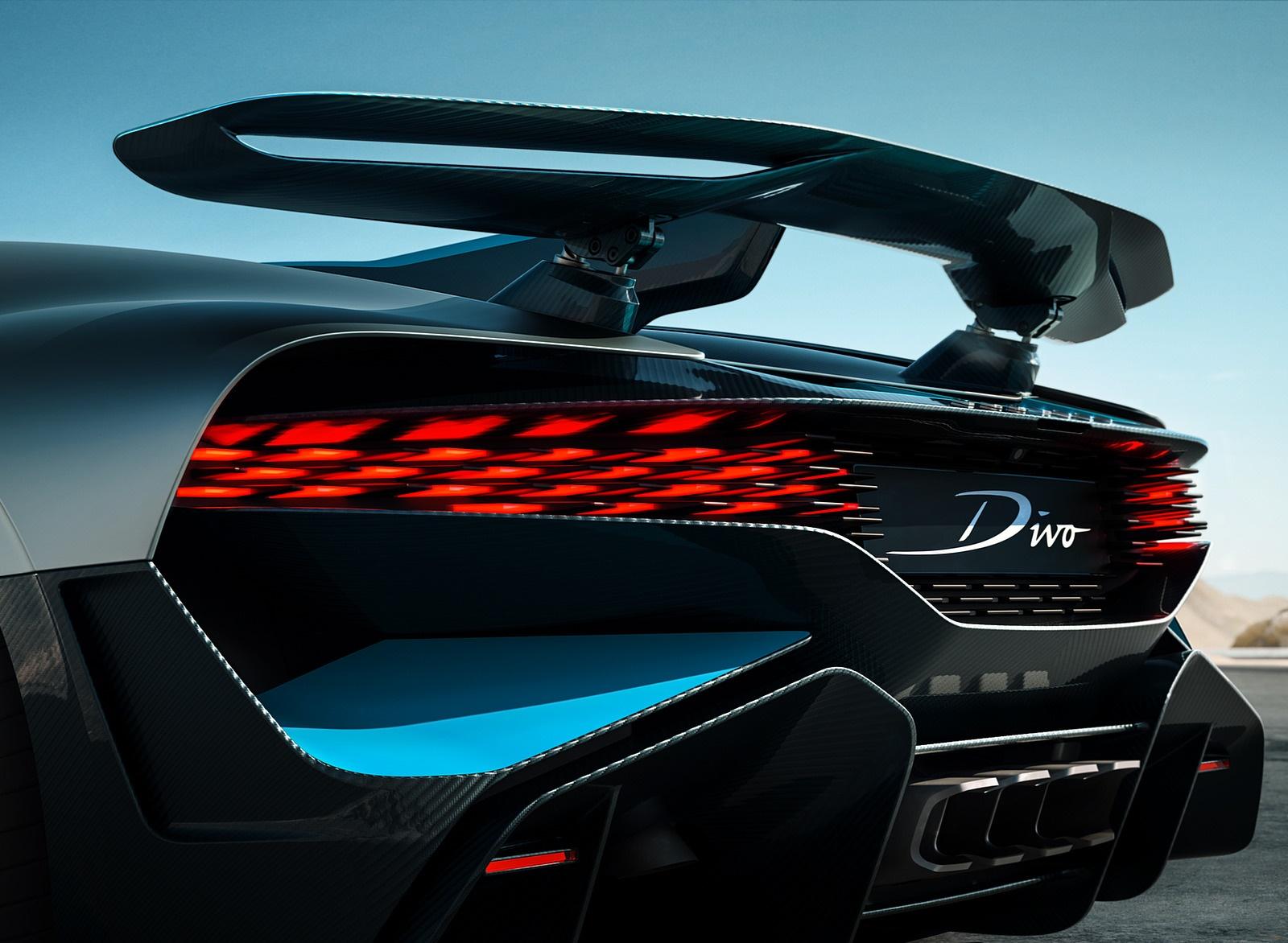 2019 Bugatti Divo Spoiler Wallpaper (12)