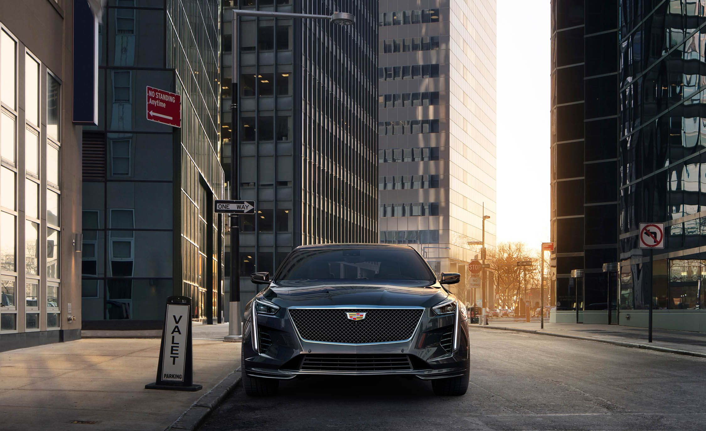 2019 Cadillac CT6 V-Sport Front Wallpapers (2)