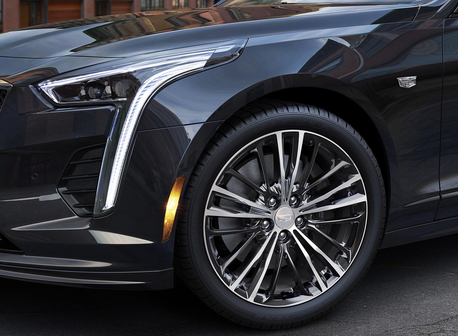2019 Cadillac CT6 V-Sport Headlight Wallpapers (7)