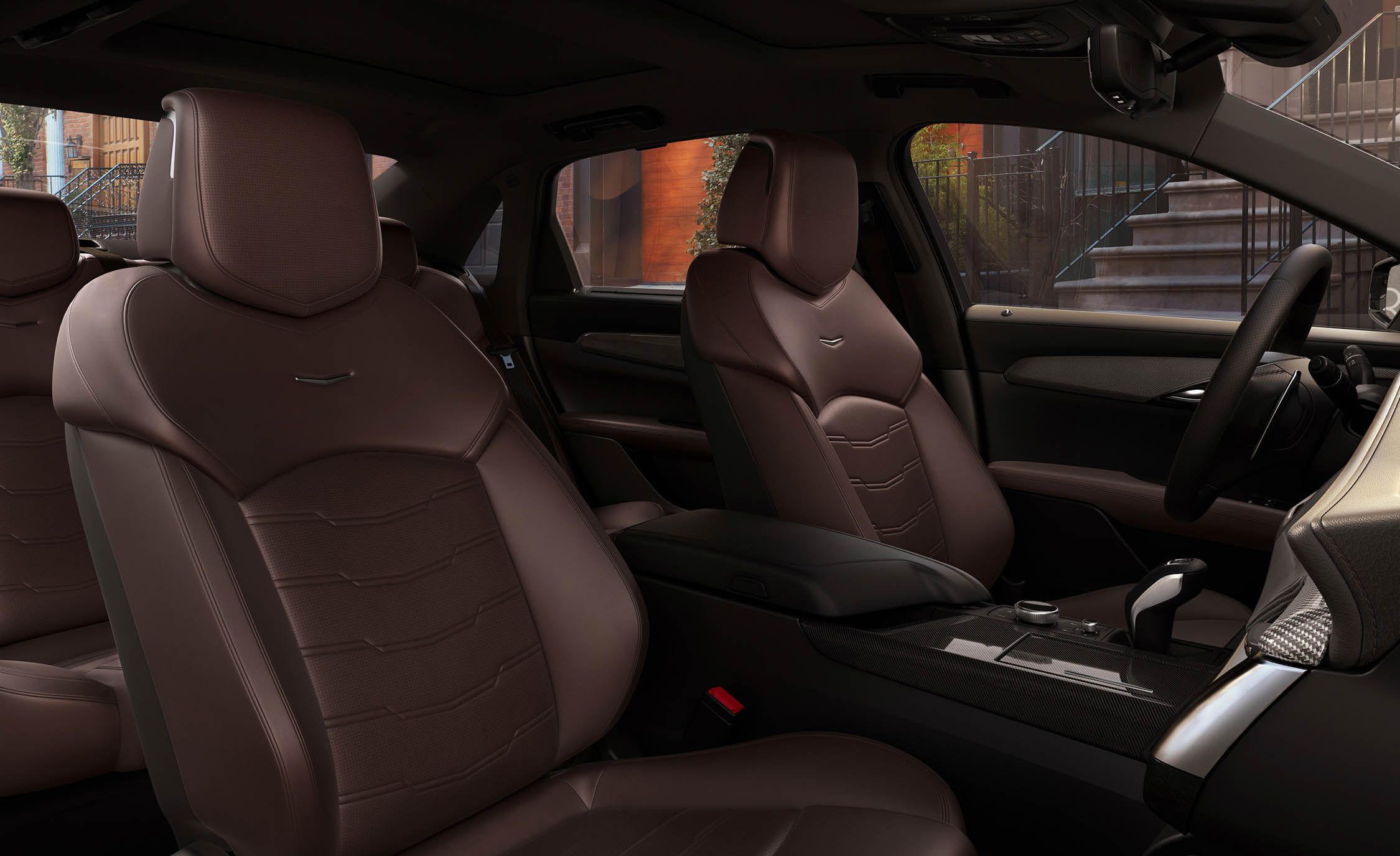 2019 Cadillac CT6 V-Sport Interior Wallpapers (10)