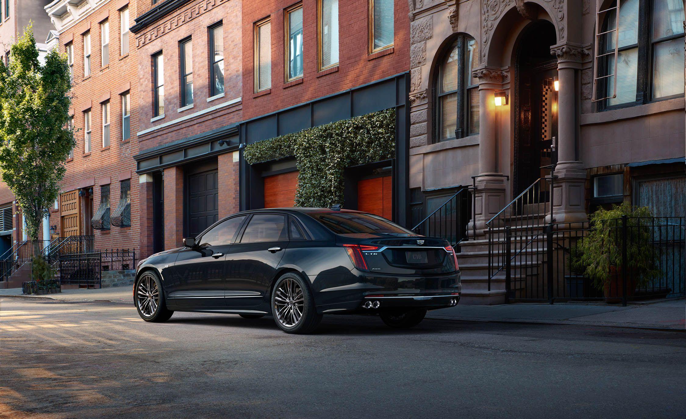 2019 Cadillac CT6 V-Sport Rear Three-Quarter Wallpapers (4)
