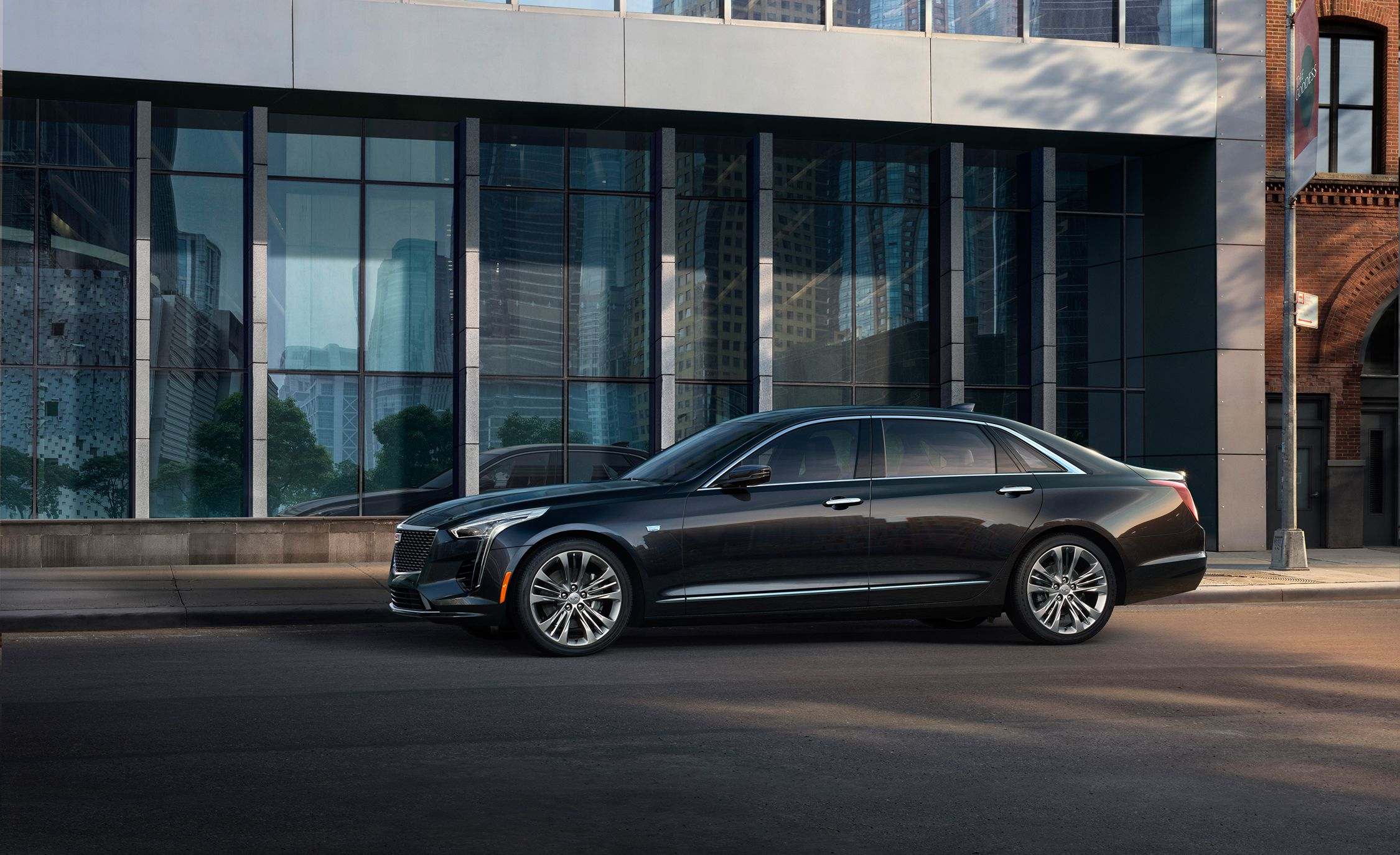 2019 Cadillac CT6 V-Sport Side Wallpapers (6)