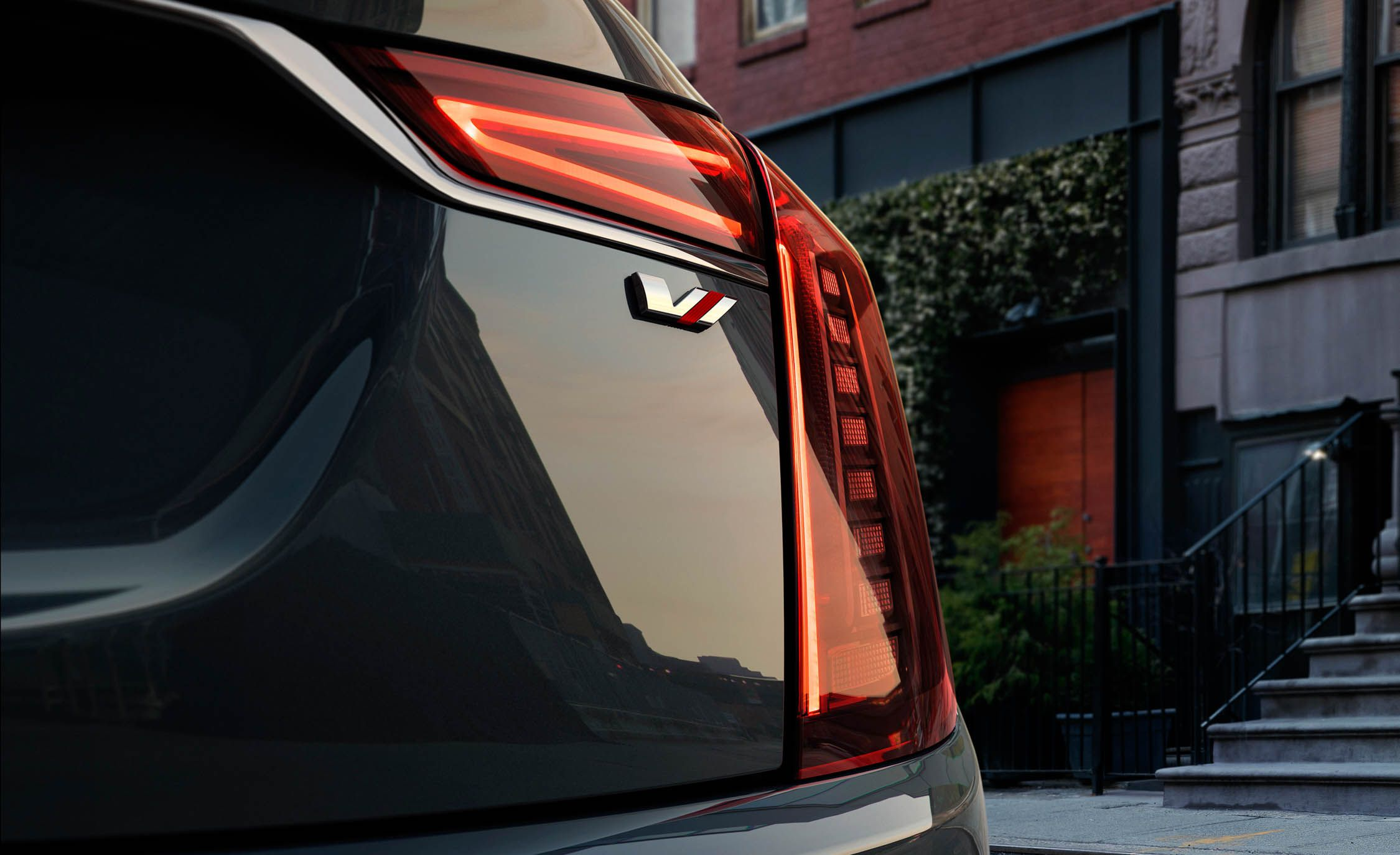 2019 Cadillac CT6 V-Sport Tail Light Wallpapers (8)