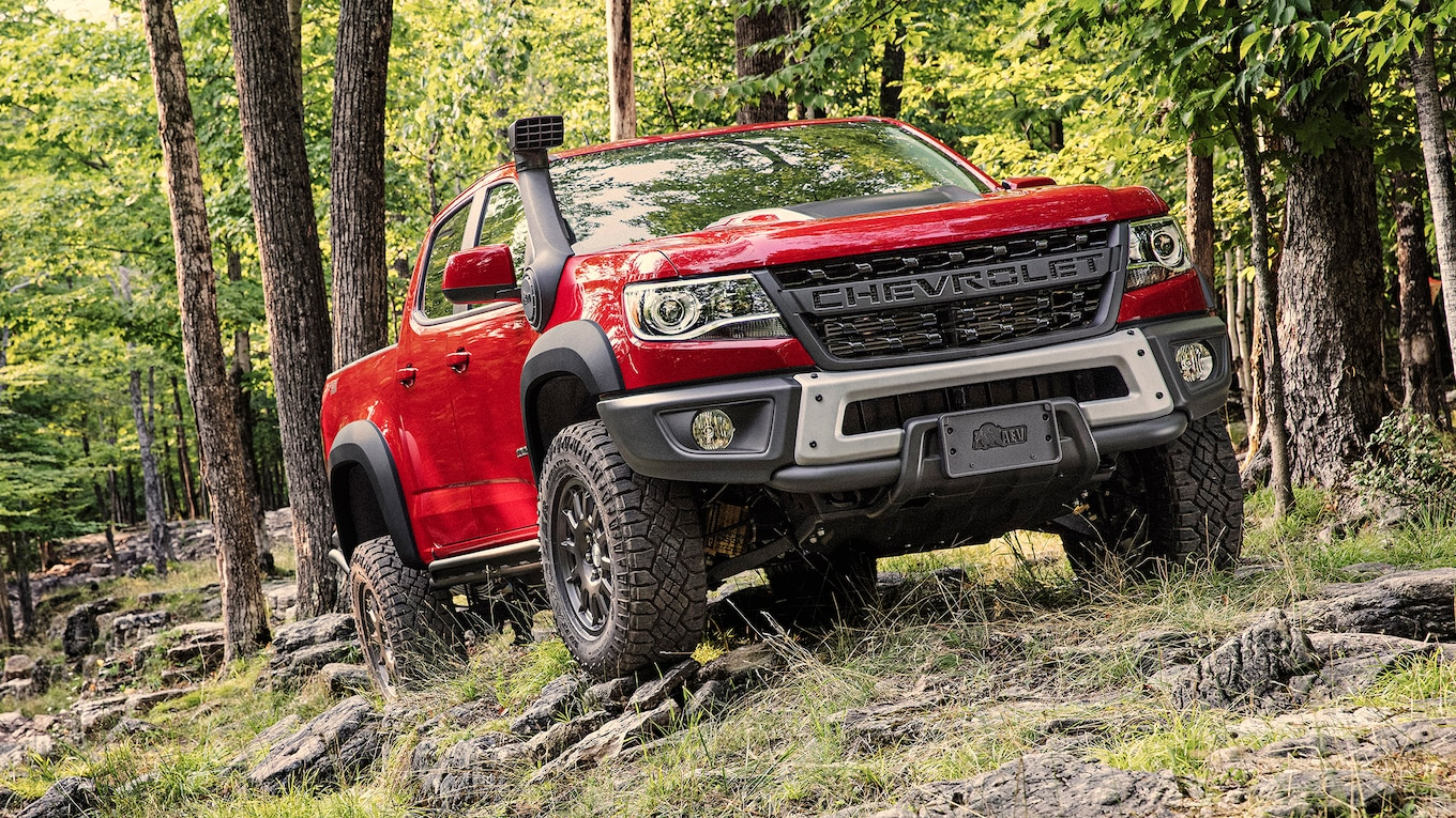2019 Chevrolet Colorado ZR2 Bison Detail Wallpapers (9)