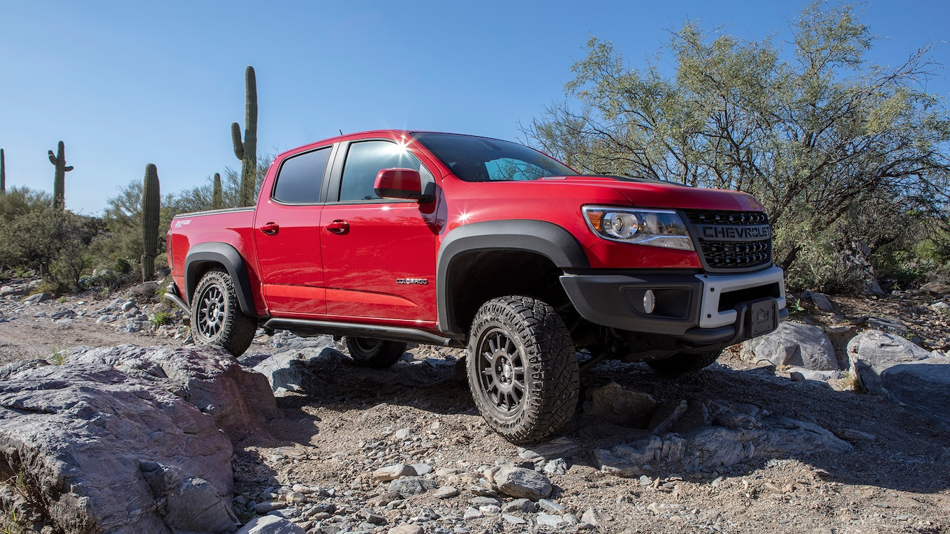 2019 Chevrolet Colorado ZR2 Bison Front Three-Quarter Wallpapers (3)