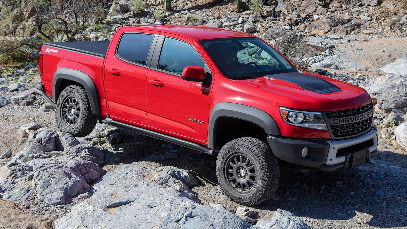 2019 Chevrolet Colorado ZR2 Bison Front Three-Quarter Wallpapers (10)