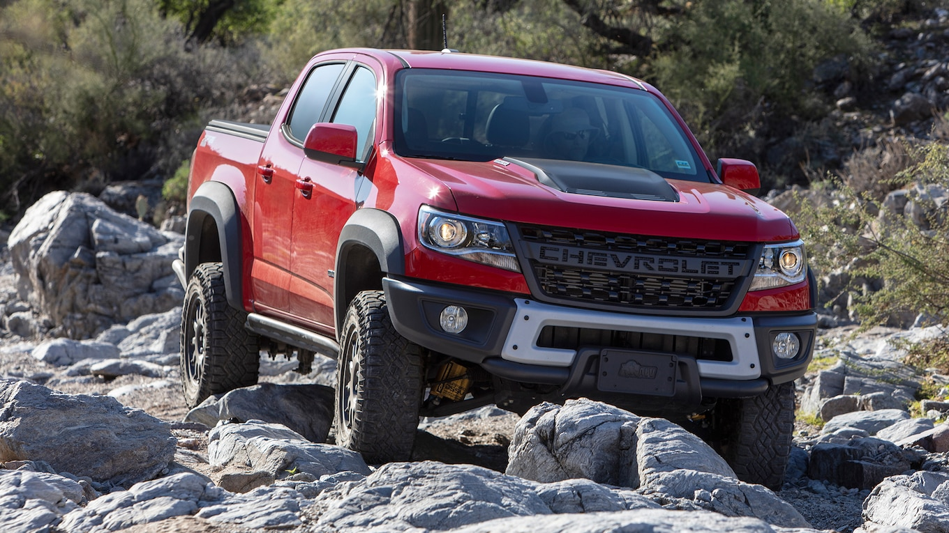 2019 Chevrolet Colorado ZR2 Bison Front Wallpapers (11)