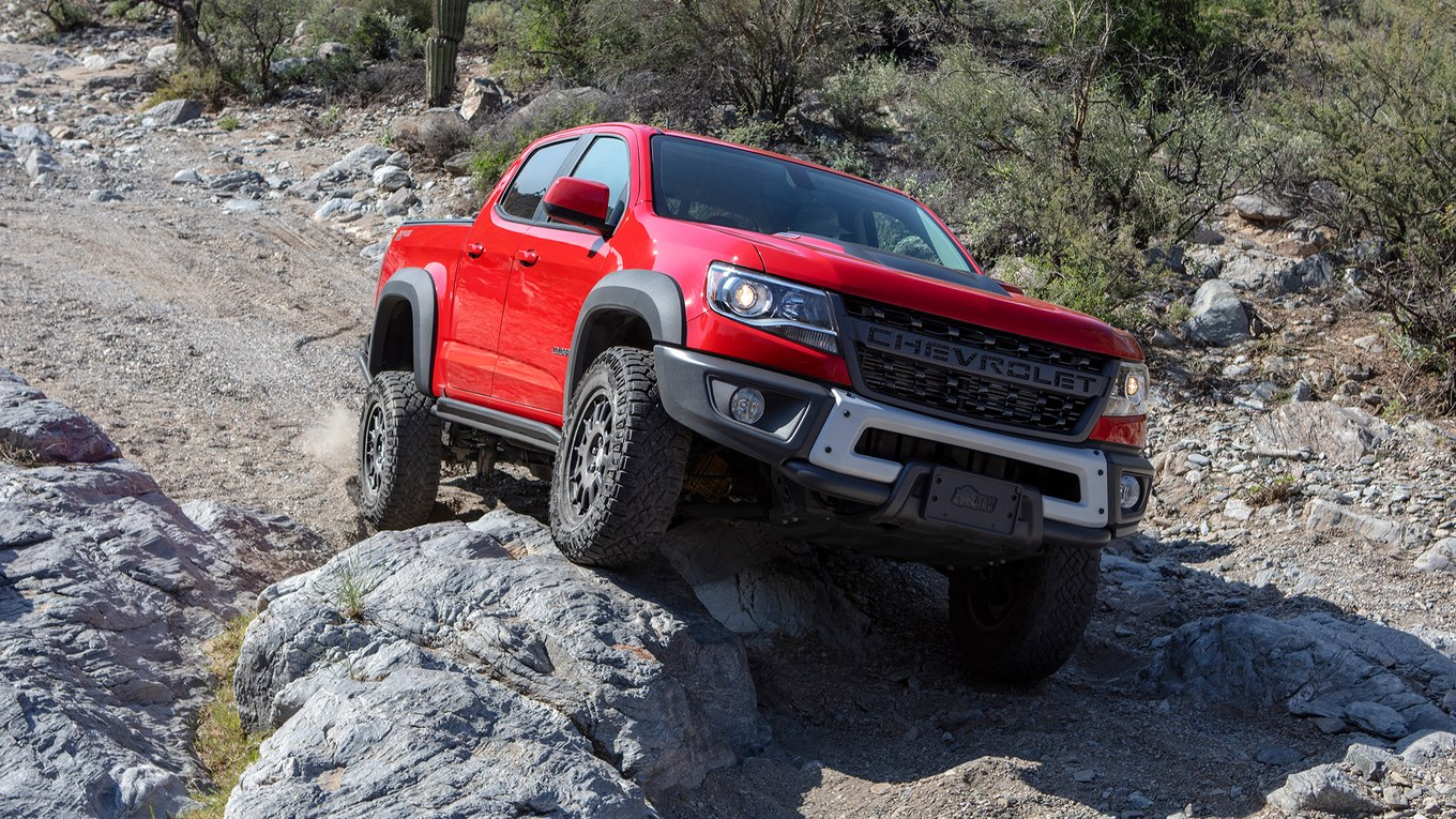 2019 Chevrolet Colorado ZR2 Bison Front Wallpapers (5)