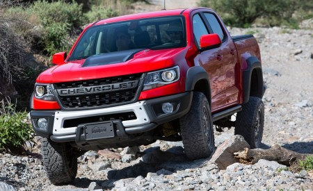 2019 Chevrolet Colorado ZR2 Bison Wallpapers HD