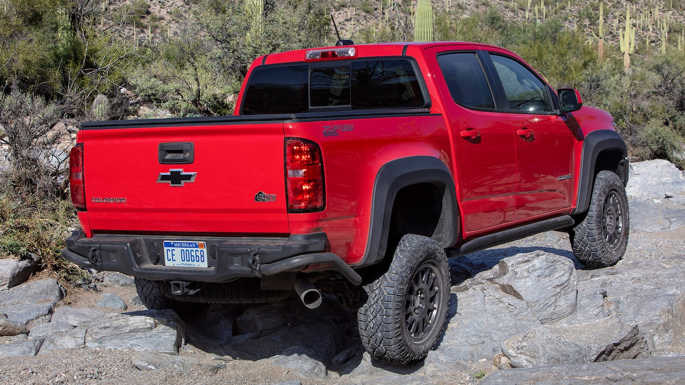 2019 Chevrolet Colorado ZR2 Bison Rear Three-Quarter Wallpapers (7)