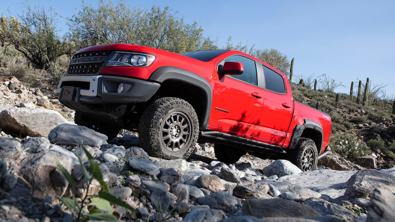 2019 Chevrolet Colorado ZR2 Bison Side Wallpapers (15)