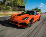 2019 Chevrolet Corvette ZR1 Front Three-Quarter Wallpapers 150x120 (19)