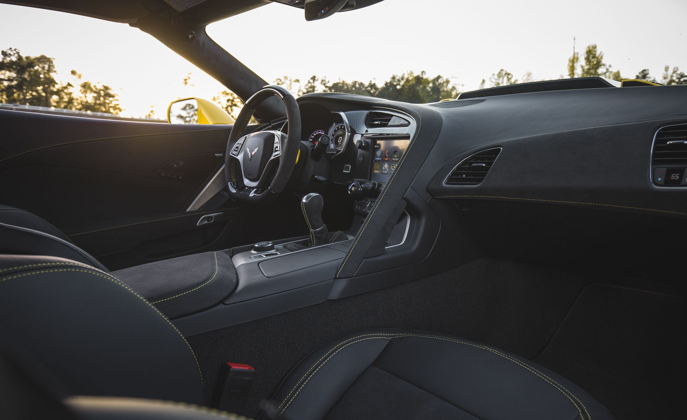 2019 Chevrolet Corvette Zr1 Interior Cockpit Wallpapers 53