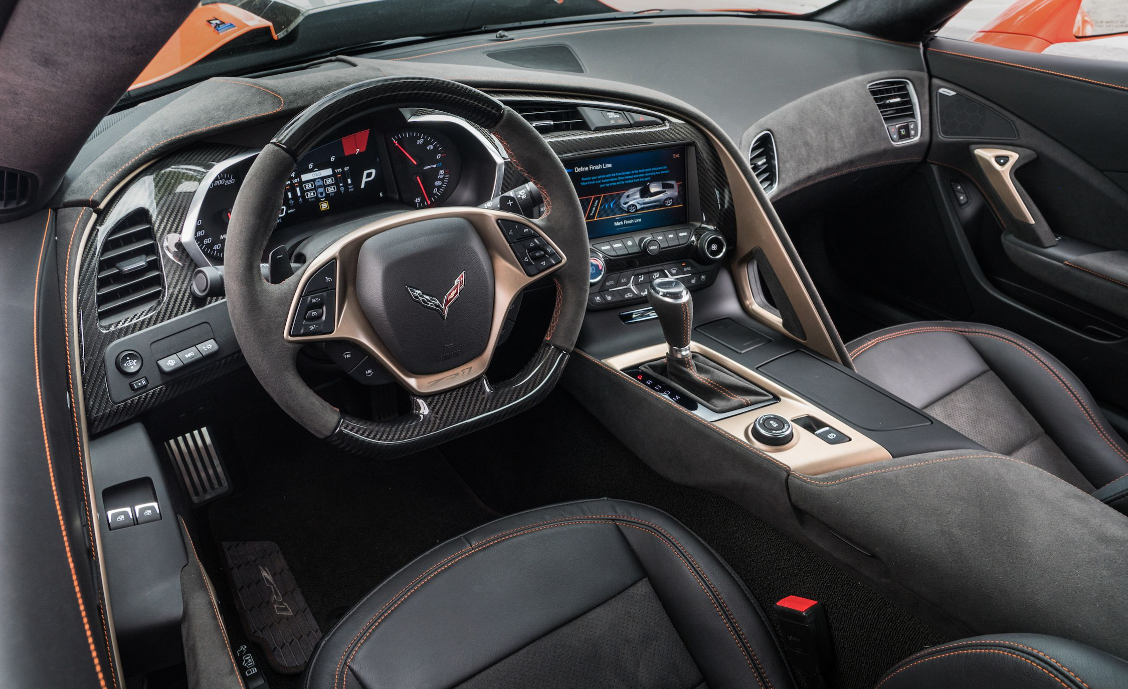 2019 chevrolet corvette zr1 interior cockpit wallpaper