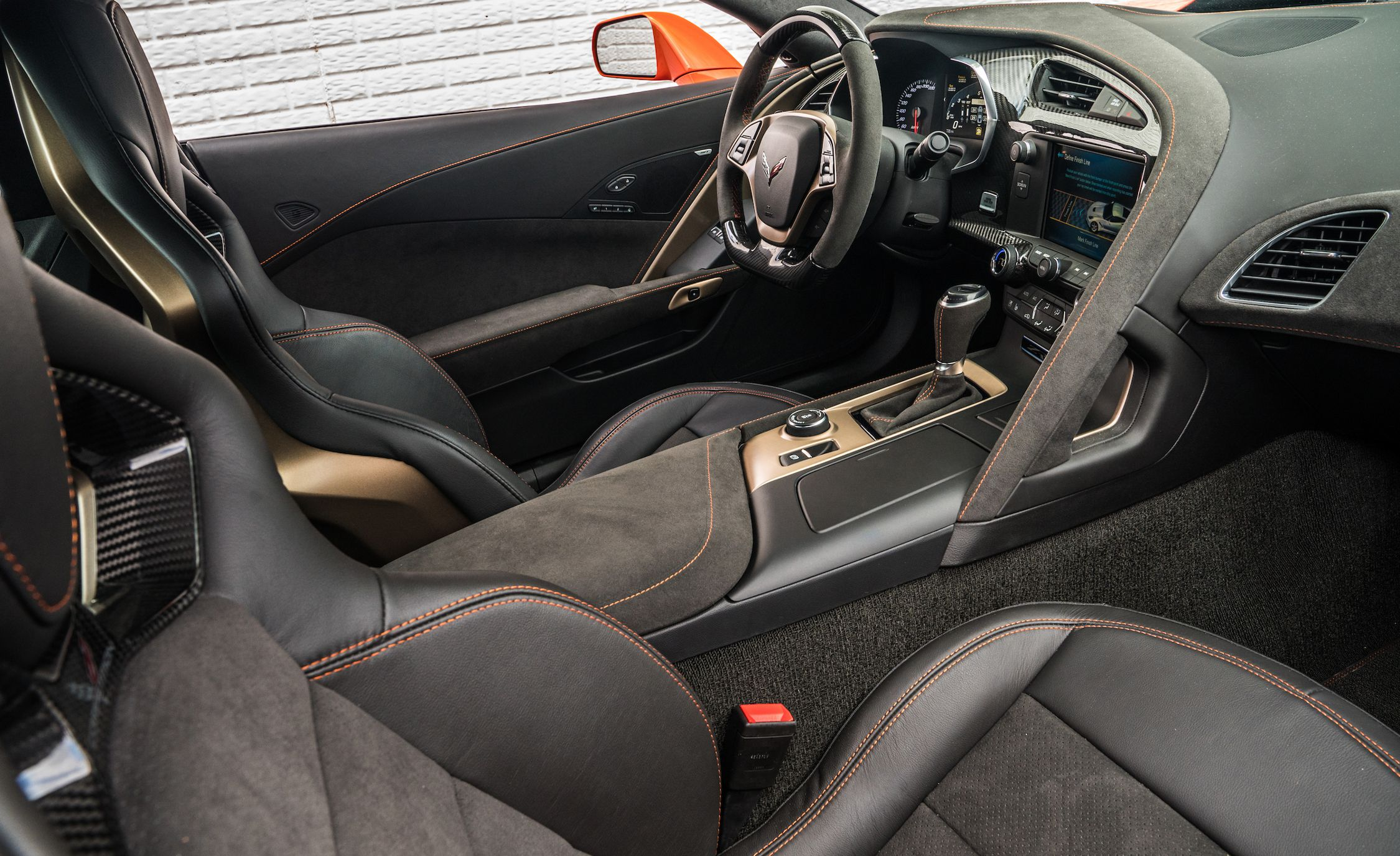 2019 Chevrolet Corvette Zr1 Interior Detail Wallpapers 26