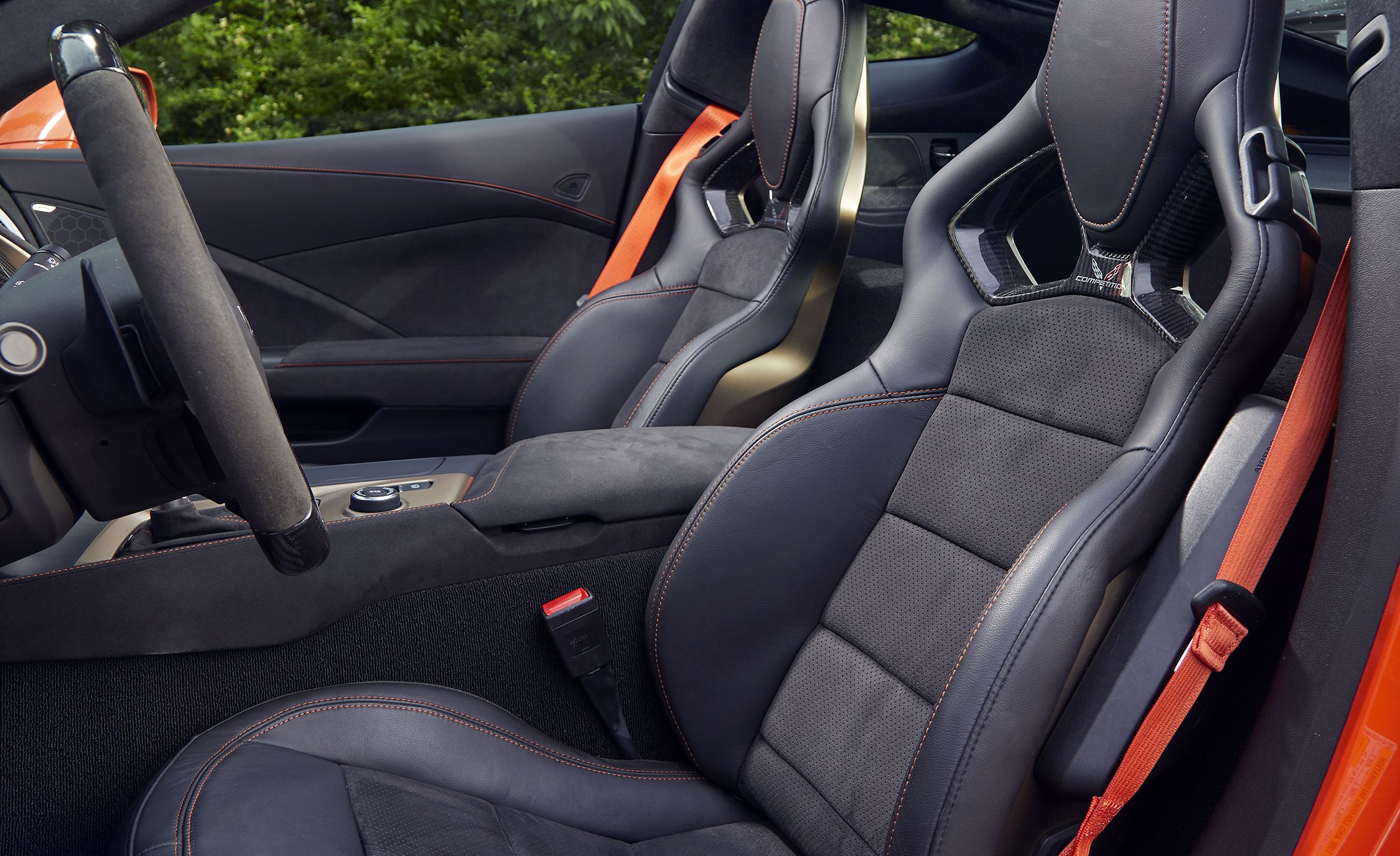 2019 Chevrolet Corvette ZR1 Interior Seats Wallpaper (13)
