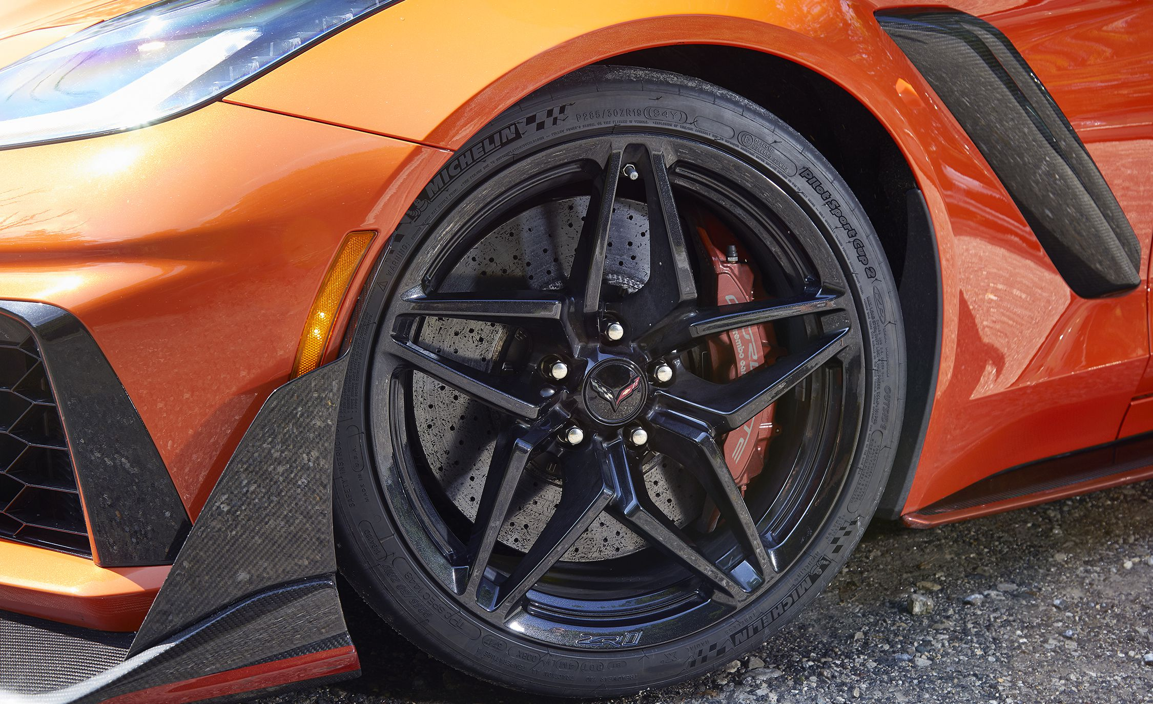 2019 Chevrolet Corvette ZR1 Wheel Wallpapers (8)