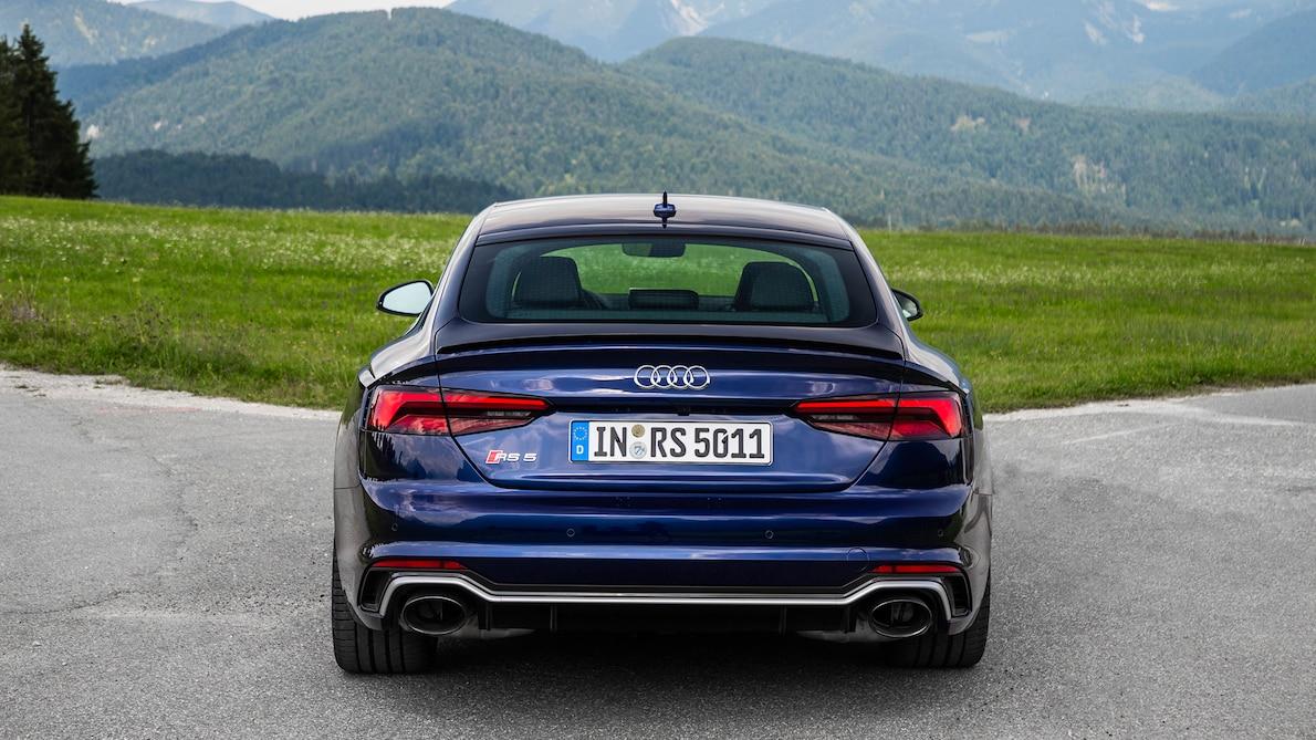 2019 Audi RS5 Sportback Rear Wallpapers (11)