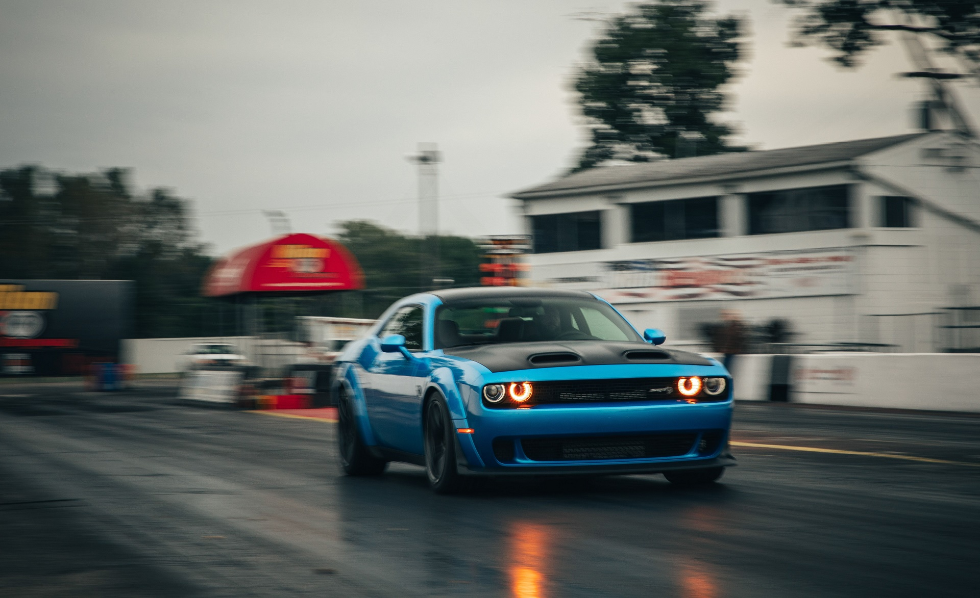 2019 Dodge Challenger Srt Hellcat Redeye Front Wallpapers 4 Newcarcars