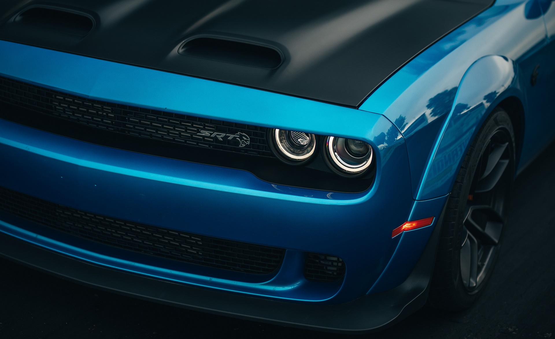 2019 Dodge Challenger SRT Hellcat Redeye Headlight Wallpaper (15)