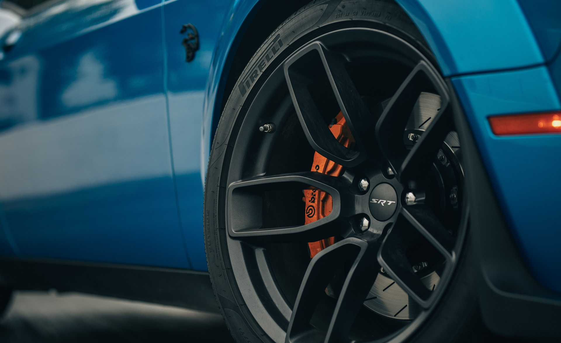 2019 Dodge Challenger SRT Hellcat Redeye Wheel Wallpaper (14)