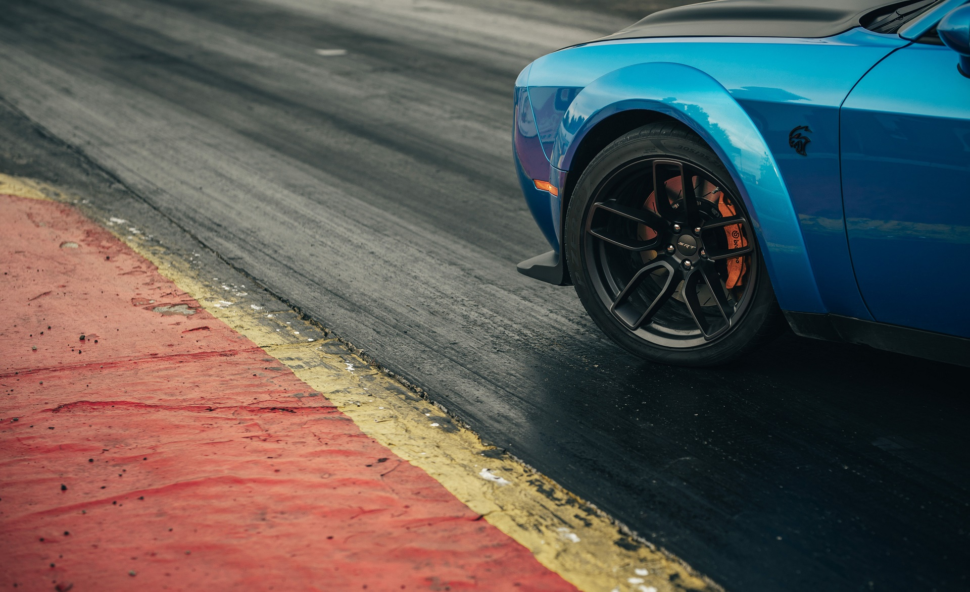 2019 Dodge Challenger SRT Hellcat Redeye Wheel Wallpaper (13)