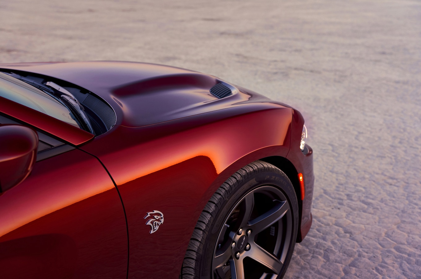 2019 Dodge Charger SRT Hellcat Detail Wallpaper (7)