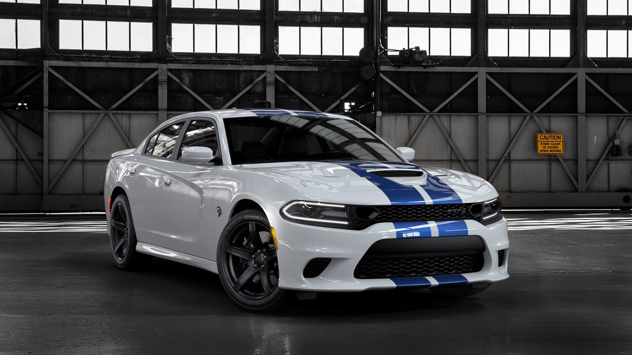 2019 Dodge Charger SRT Hellcat Front Three-Quarter Wallpaper (11)