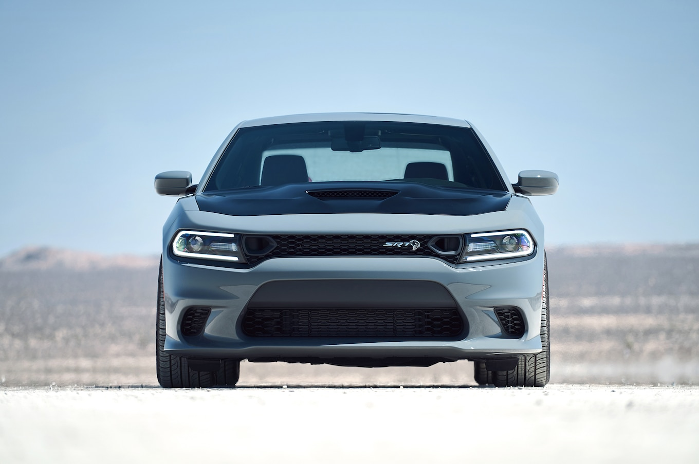 2019 Dodge Charger SRT Hellcat Front Wallpaper (9)