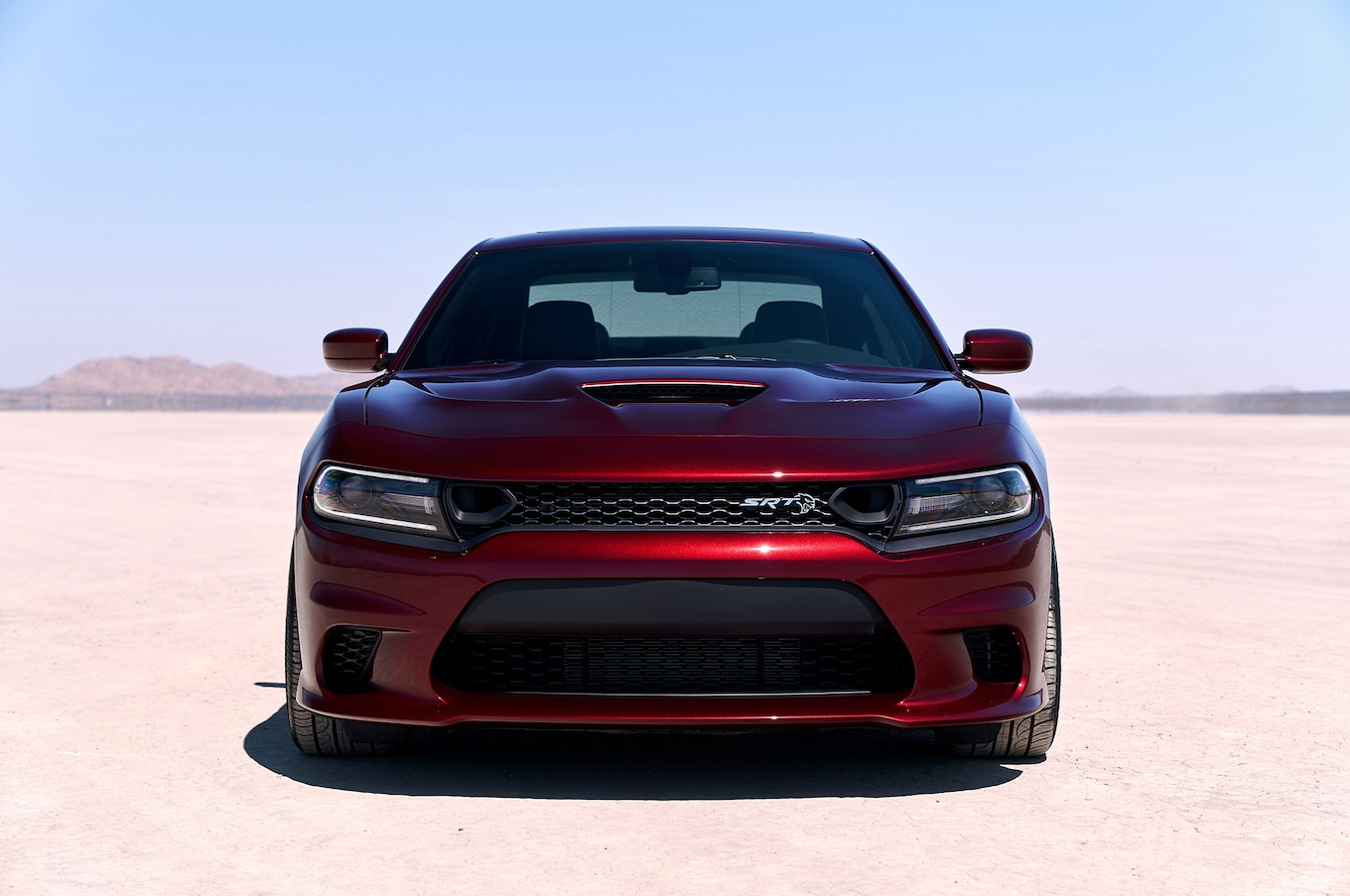 2019 Dodge Charger SRT Hellcat Front Wallpaper (2)