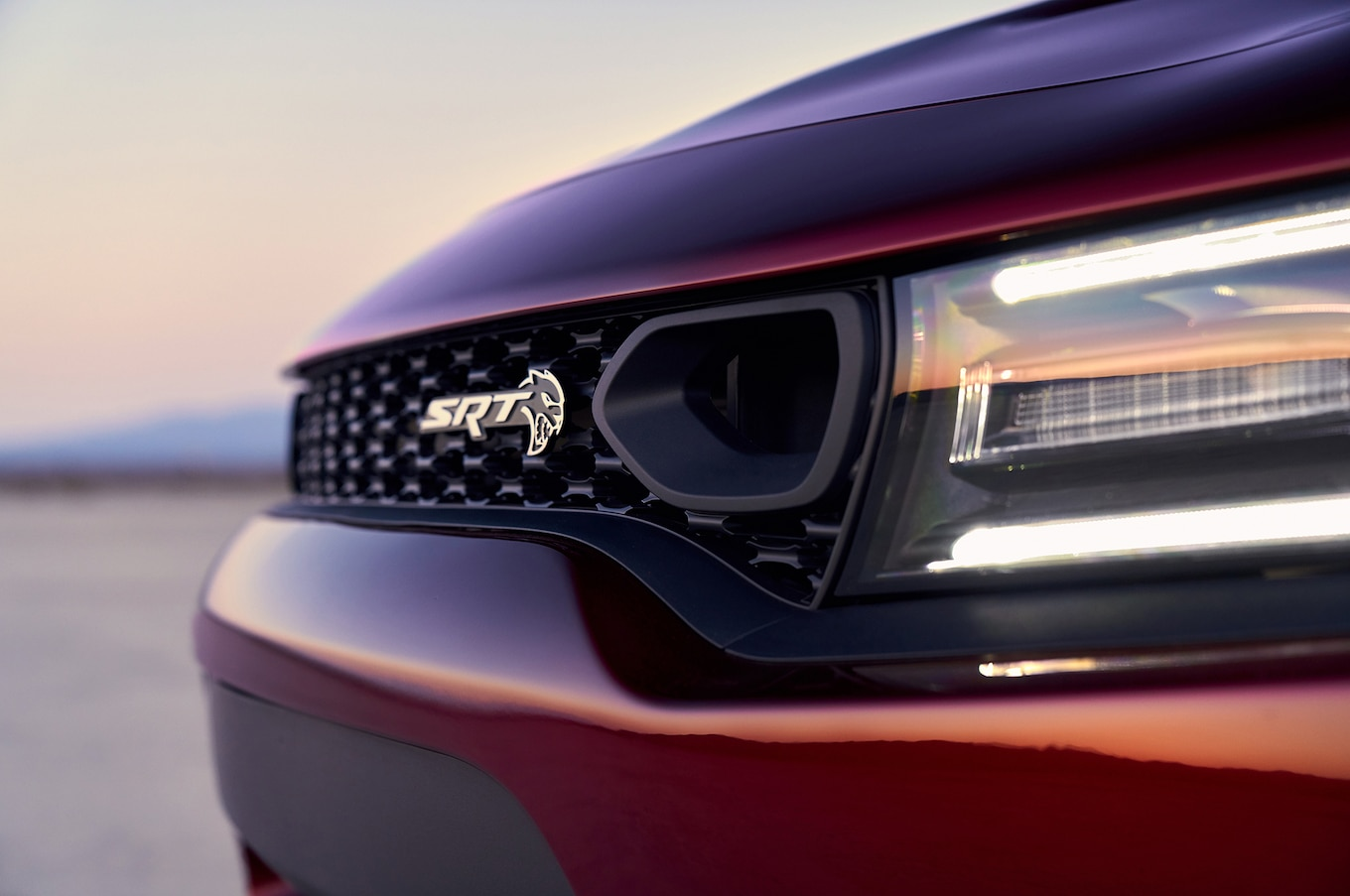 2019 Dodge Charger SRT Hellcat Grill Wallpaper (6)