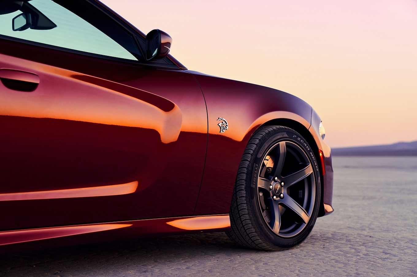 2019 Dodge Charger SRT Hellcat Wheel Wallpaper (5)