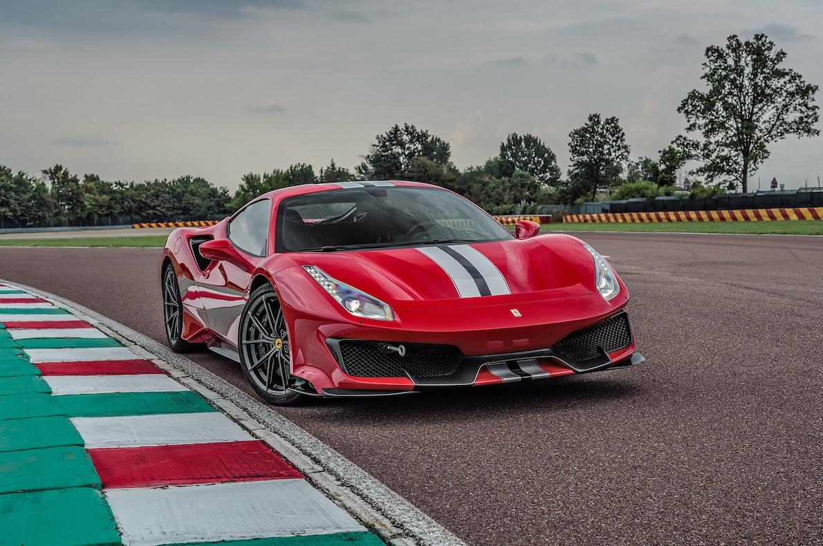 2019 Ferrari 488 Pista Front Three-Quarter Wallpapers (10)